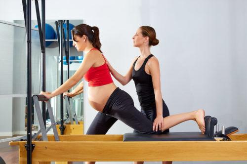 Programa de embarazo de Pilates Experience
